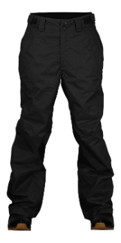 Two bare feet claw hammer ski pants for men