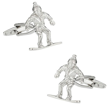 Buy Snowboard Cufflinks as Presents for Snowboarders