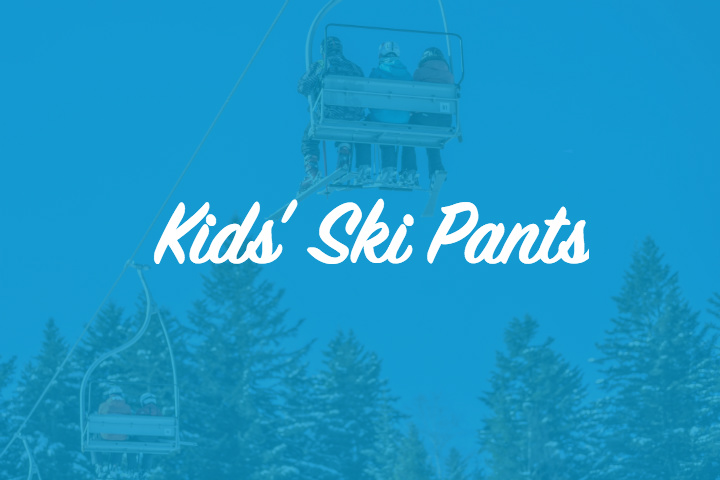 Ski trousers for children