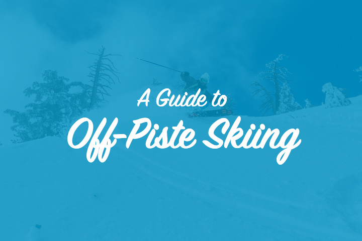 How to ski off-piste