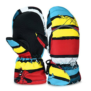 Vbiger ski mitten for children