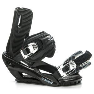 5th Element Stealth 3 Snowboard Bindings - Medium-Large/Black