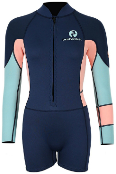 Two Bare Feet Long Sleeve Shorty Wetsuit