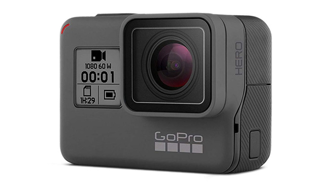 Go Pro travel camera