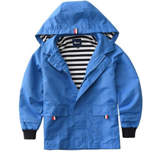 Hiheart Boys Girls Waterproof Hooded