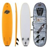 Soft Top Surfboard + Bag Package