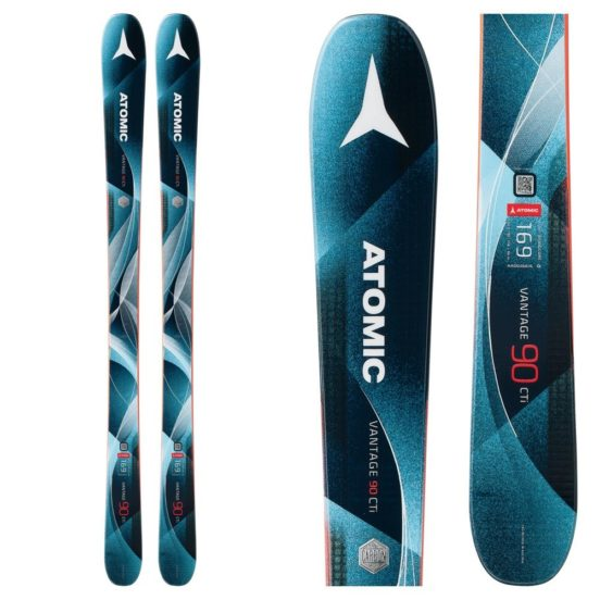 Atomic Vantage WMN 90 CTI Skis for Beginners