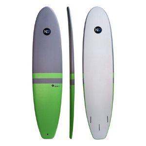 8'5″ North 2 Fiberglass Core Soft Top Longboard Surfboard