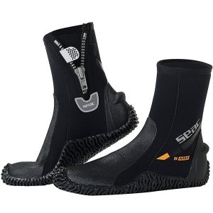SEAC Basic HD 5mm Neoprene Scuba Boots